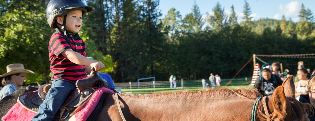 KC Fall Festival 2015 - Kid on horse