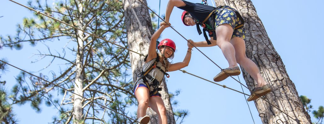 PL 16 - Ropes course tandem
