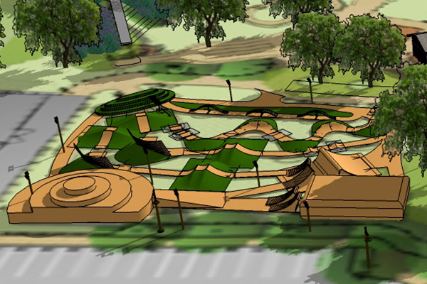 Velocity Bike Park (lower area)