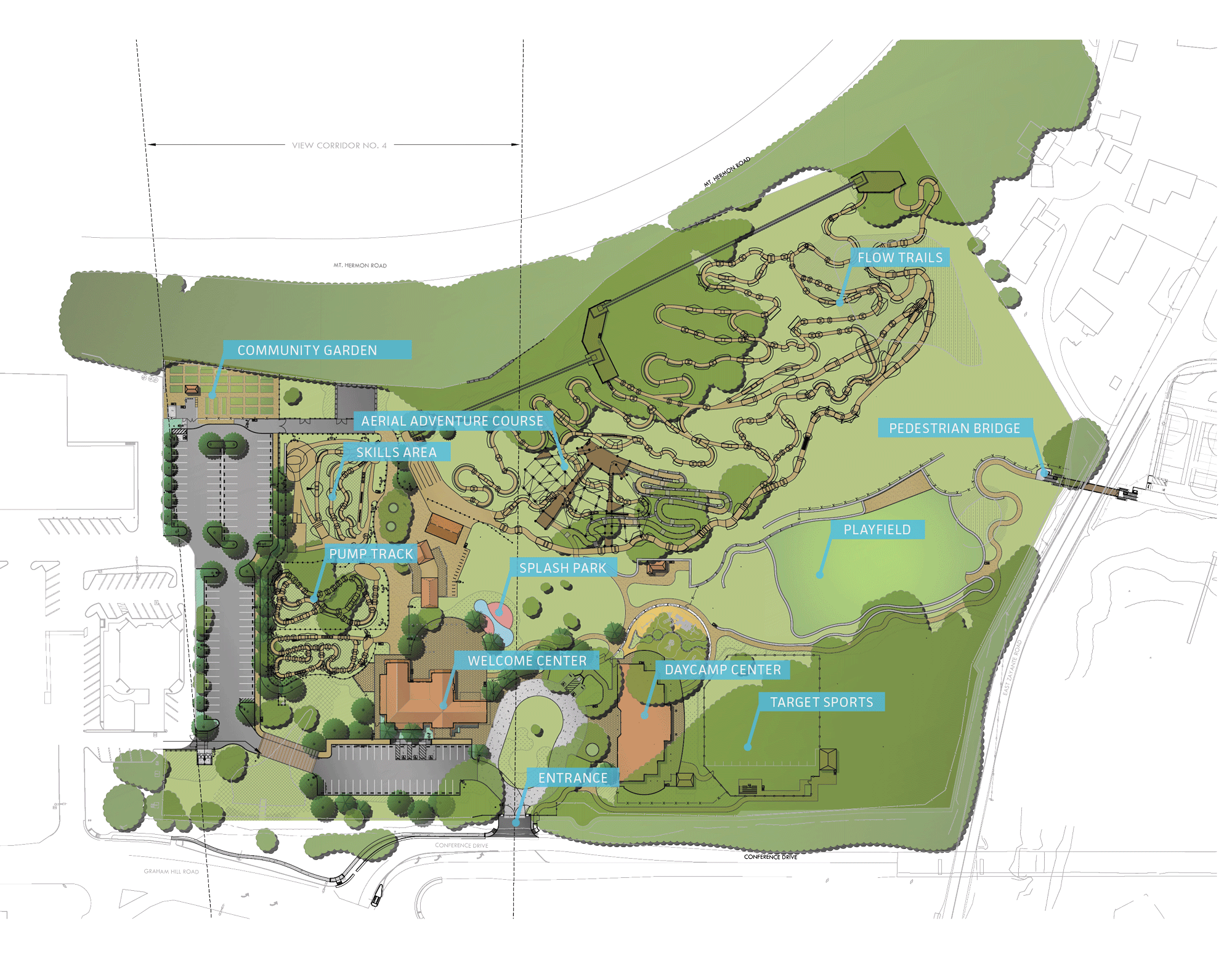 Site Map with Labels