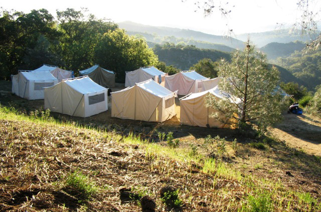 Whisper Canyon Tents