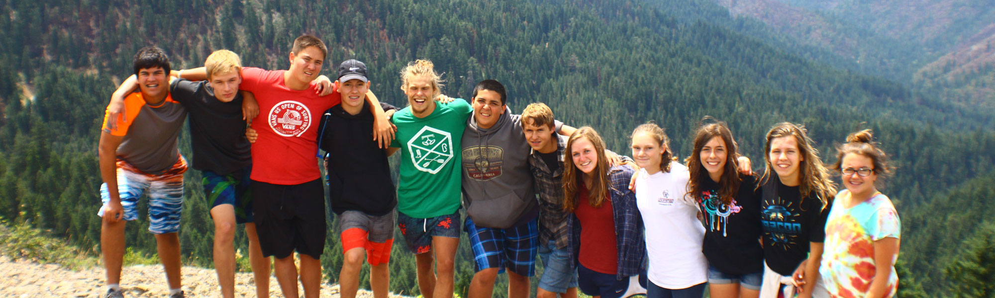 Kidder Creek Group Photo on Mountain