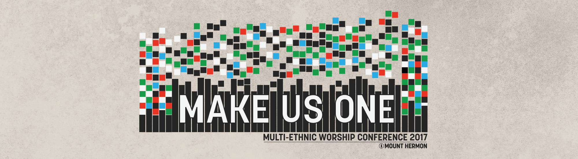 """Make Us One"" logo"